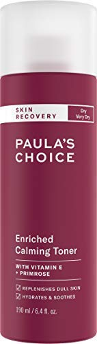 Paula's Choice SKIN RECOVERY Calming Toner, 6.4 Ounce Bottle Toner for the Face, for Sensitive Facial Skin and Dry Redness-Prone Skin
