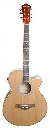 mächtig der welt Akustische Gitarre Top Key Tone Jumbo Western Spring Gitarre mit Patrone
