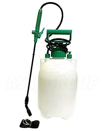 Drucksprüher 5 Liter – Rucksack, Schultergurt, Pumpe & Trigger-Action – für Unkrautvernichter / Wasser / Pestizide etc.