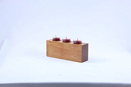 """LifeSong Milestones Personalized I Lived While I was Strong Memorial Sympathy Funeral Candle Holder Custom Engraved Cherry Wood Keepsake Ideas for Loved One 10"""" L x 4"""" H (A Limb has Fallen)"""