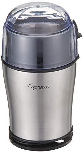 Capresso Cool Grind Grinder, Silver