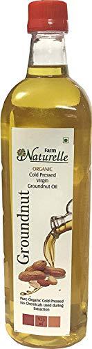 Kachi Ghani Groundnut Oil (Virgin Cold Pressed) - 915 ML (30.93 OZ) - Certified