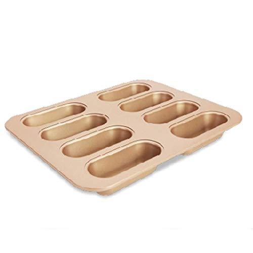 YIFEI2013-SHOP Kuchenform Hot Dog Mold Lange Brot Antihaft-Toast Mold Ofen Toast Backform Backform for Haus und Küche Backen Formen