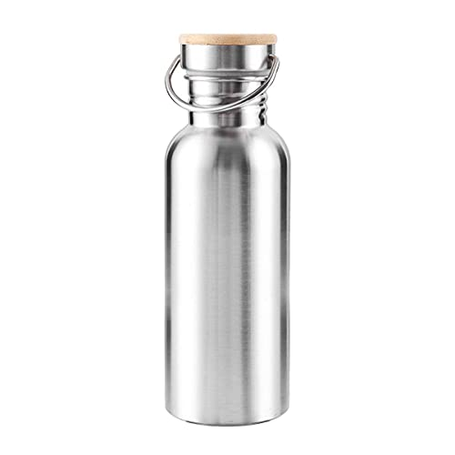Lihood 35 0ML 500ML 750ML Al vacío de Acero Inoxidable útil Botella extensa Boca Botura Agua Deportes Hervidor de Deportes BPA Renunciar (Color : M)