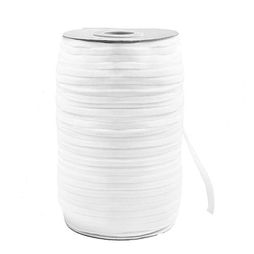 "Elastic Band,Shed Protector 200 Yard 1/4"" Inch Sewing Elastic Band/Rope/Cord/String for Handmade Making, Spool Roll, Stretch, Craft Elastic"