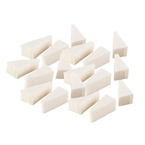 HZWLF Nail Art Tool, Maquillage Wedges Cosmetic Sponges Wedges Triangle Sponge Nail Art Sponge for Foundation Beauty Tool, 40pcs