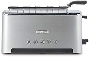 Kenwood Persona TTM610 - Tostadora con una abertura larga para 2 tostadas o una grande, rejilla extraible cómoda, varios...