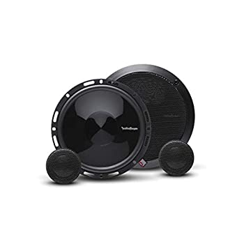 Rockford Fosgate P165-SE Punch 6.5  2-Way Component Speaker System with External Crossover  Pair
