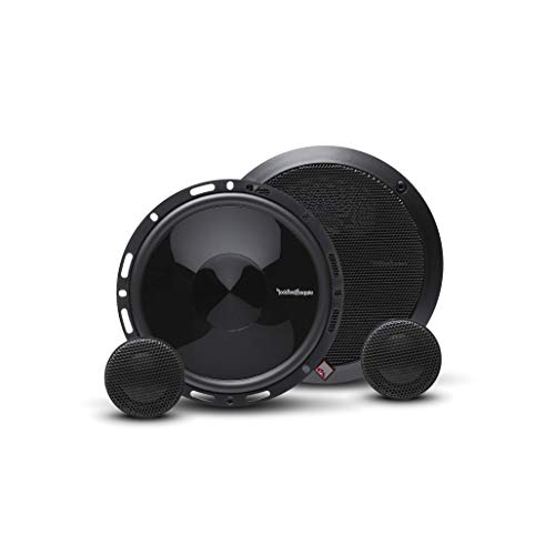 Rockford Fosgate P165-SE Punch 6.5' 2-Way Component Speaker System with External Crossover (Pair)