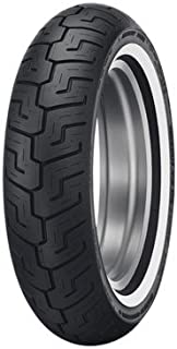 Dunlop D401 Rear Motorcycle Tire 150//80B-16 Black Wall for Harley-Davidson Softail Heritage Classic FLSTC 2004-2006 77H