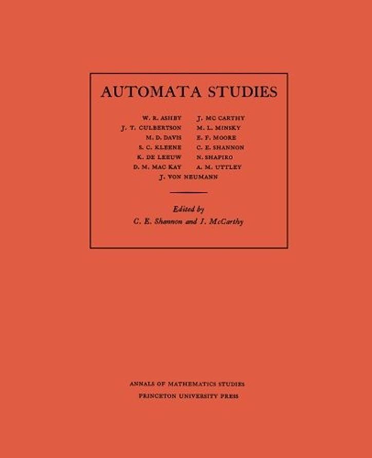 思い出させるブラシ甥Automata Studies (Annals of Mathematics Studies)