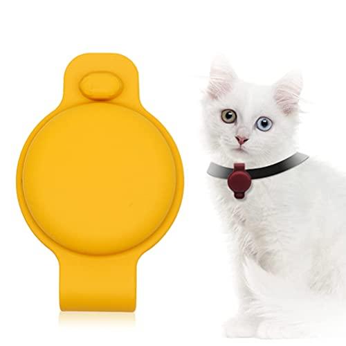 BASOYO Support de carte d'air compatible avec Apple Airtag et collier pour animal de compagnie.