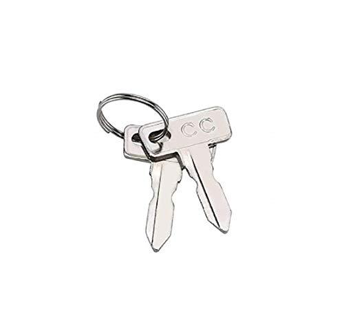 Club Car Replacement Golf Cart Keys (2 Pack)