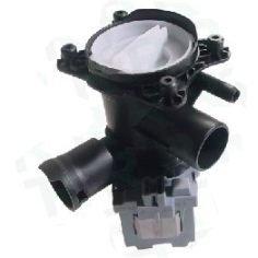Laugenpumpe, Ablaufpumpe Waschmaschine von EVH-XTRA® passend für Bosch, Siemens wie Orig.-Ersatzteil-Nr. 144511, 144971, 145777, 145338
