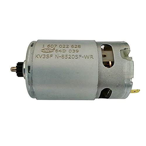 YUXIwang Motor eléctrico DC Motor 12V 13 Dientes 1607022628 para Bosch GSR120-LI(3601JF7000) Destornillador eléctrico Destornillador Piezas de Repuesto