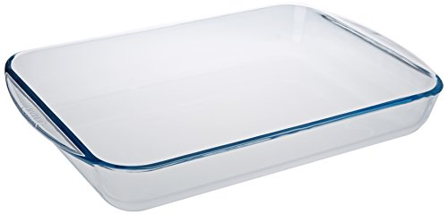Pyrex Glass Rectangular Roaster, 40x27cm