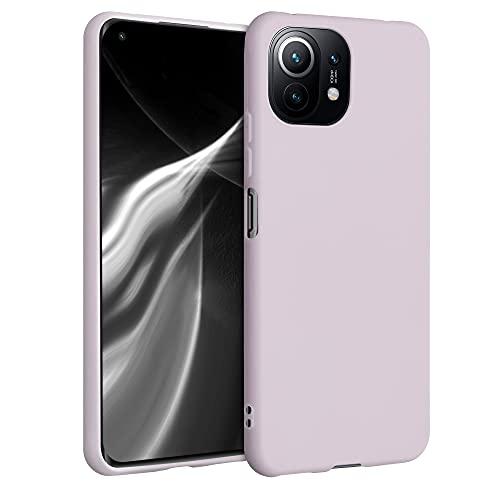kwmobile Hülle kompatibel mit Xiaomi Mi 11 Lite (5G) - Hülle Silikon - Soft Handyhülle - Handy Hülle in Dream of Cotton