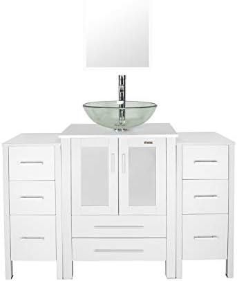 Top 10 Best bathroom vanities 48 inch with top Reviews