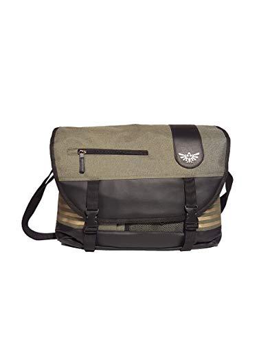 Nintendo Legend Of Zelda Elaborated Messenger Bag, 35 cm, Groen