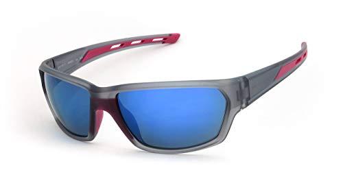ESPRIT Sports Unisex-Sonnenbrille mit verspiegelten Gläsern