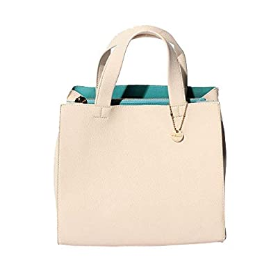 UN BILLION Mine Women's Vegan Faux Leather Signature Square Handbag