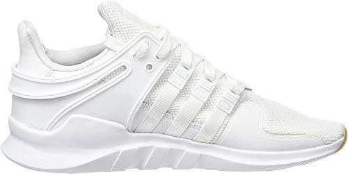 adidas Men's EQT Support Adv Gymnastics Shoes, White (FTWR White/FTWR White/Gum 3), 5 UK