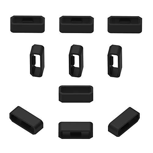 Verschlussring Kompatibel mit Garmin Vivosmart Hr/Hr +, Silikon, Pack of 10