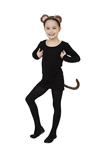 Singe Set (Oreilles + Queue) Déguisement pour Animal Singe Costume Déguisement Kit set