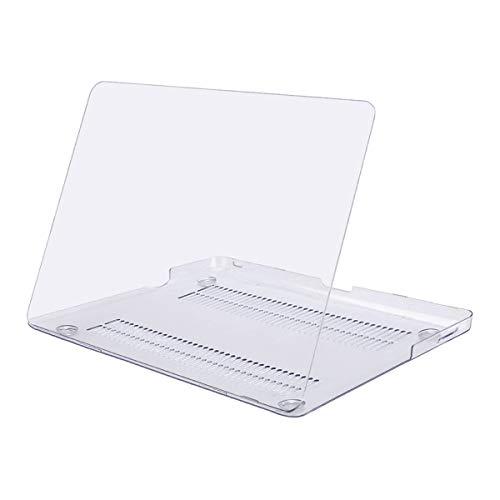 MOSISO Hülle Kompatibel mit MacBook Pro 13 mit CD-ROM Drive - Plastik Hartschale Hülle Kompatibel mit Alt MacBook Pro 13 Zoll (A1278, Version Early 2012/2011/2010/2009/2008), Klar/Kristall