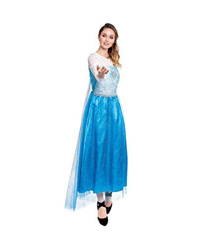 Partylandia Disfraz Mujer de Carnaval Halloween Fiesta Cosplay - Frozen Elsa S