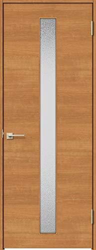 ラシッサS 標準ドア ASTH-LGB 錠付き 06520 W:754mm × H:2,023mm 吊元:右吊元 本体色/枠色:クリエラスク(LL) 枠種類:ノンケーシング115(壁厚:76-100) 沓摺:埋込沓摺(A枠) 把手:サークルB 鍵種類:丸型