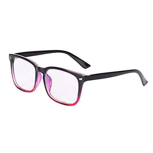 Brille Brillengestelle Ohne Sehstärke Voll Rahmen Runde Pantobrille Streberbrille Fensterglas Nerdbrille Damen Herren Ebenenspiegel Brillefassung Lesebrille Winddicht Leicht Vintage Transparent