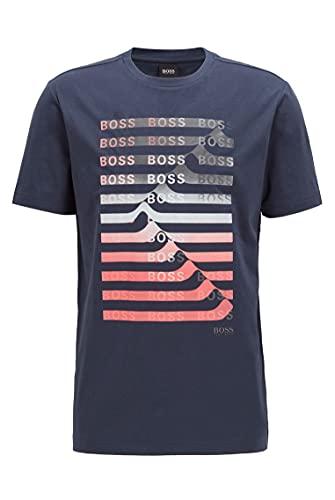 BOSS Teeonic Camiseta, Navy410, M para Hombre