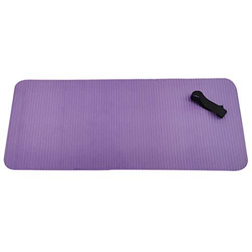 Esterilla de yoga, pilates, esterilla multifuncional, esterilla de fitness, yoga, ejercicio, antideslizante, NBR, para yoga, pilates, gimnasia, ejercicio de estiramiento