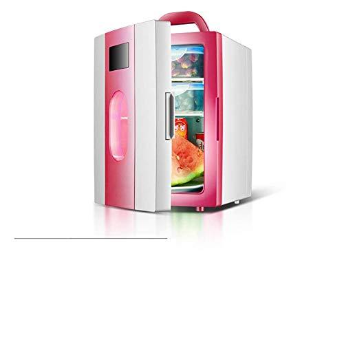 AYDQC Refrigerador del Coche Mini refrigerador refrigerador y Calentamiento Dorm Pequeño Frigorífico Congelador Door Reversible -e 26x31x37cm (10x12x15) fengong