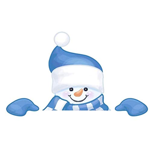 Nargut Decoración de césped de Navidad para vallas, muñeco de nieve, señal de patio para interiores y exteriores, suministros de fiesta de Navidad