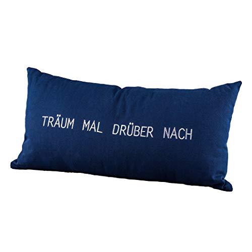 Räder 14172 ZUHAUSE - Tagtraumkissen - Kissen - Träum mal drüber nach - 30x60cm