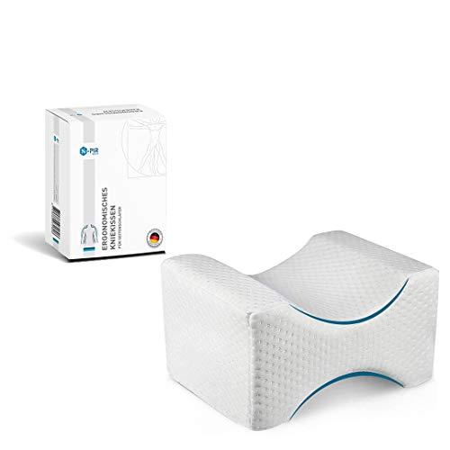 N-PIR Premium KNIEKISSEN für Seitenschläfer | Verbessertes Konzept 2021 | Ergonomisches Beinkissen zum Schlafen | Memory Foam Schlafkissen 2.0