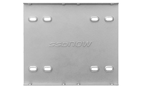 Kingston Technology SNA-BR2/35 Brackets and Screws for Solid State Drive, 2.5-3.5 Inch, Silver