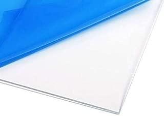 1/4 Inch Clear Acrylic/Plexiglass Sheet 24 Inches X 24 Inches