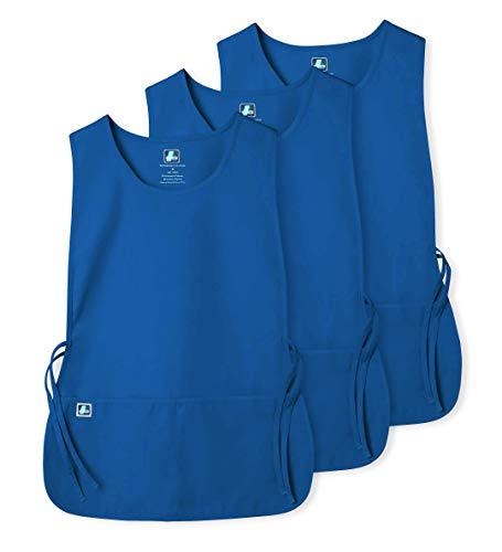 Dimensione BLK 702 Colore Adar Uniformi Unisex Grembiule da Lavoro Con Tasche per Lavori in settori Bellezza /& Medicina XL