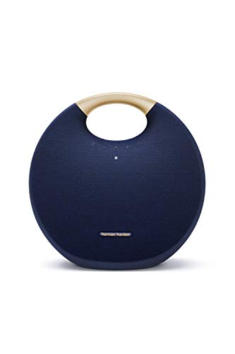 Harman Kardon ONYX STUDIO 6 ワイヤレスポータブルスピーカー Bluetooth/防水/IPX7対応/最大8時間再生/2台同時接続機能 ブルー【日本正規代理店品】