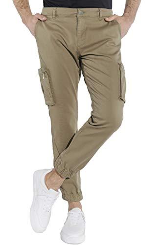 Course Herren Cargohose Cargo Pants Hose Taschen Baumwolle Bündchen