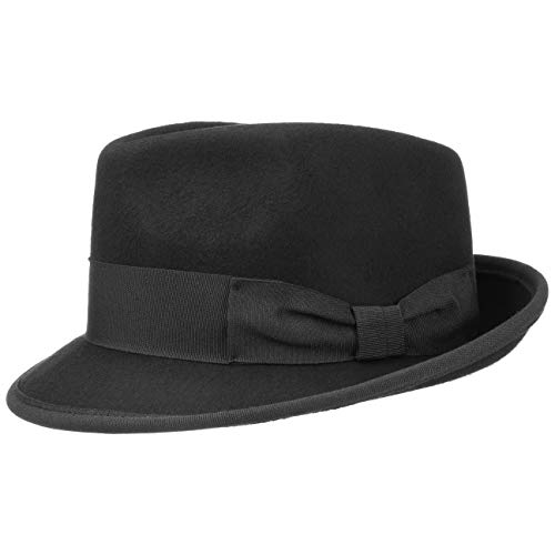Lipodo Sombrero de Fieltro The Classic Mujer/Hombre - Made in Italy La