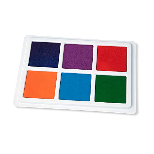 Melissa & Doug Jumbo Multi-Colored Stamp Pad