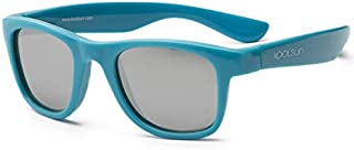 Koolsun Wave Sunglasses for 1-5 Years Kids, Cendre Blue