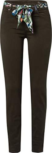 BRAX Damen Style Shakira Jeans, Dark Olive, 52L