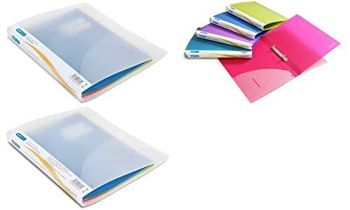 Rapesco–Carpeta de A4cartón 15mm varios colores [Pack de 10]