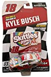 NASCAR Authentics Kyle Busch #18 Diecast Car 1/64 Scale - 2020 Wave 4 with Free Magnet - Collectible