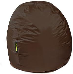 Pushbag Sitzsack BAG 300 in Kunstleder, 90x70cm, 300l, beige
